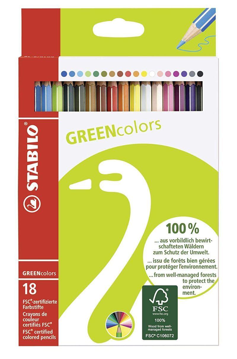 pastelli-colorati-stabilo-green-color-da-18