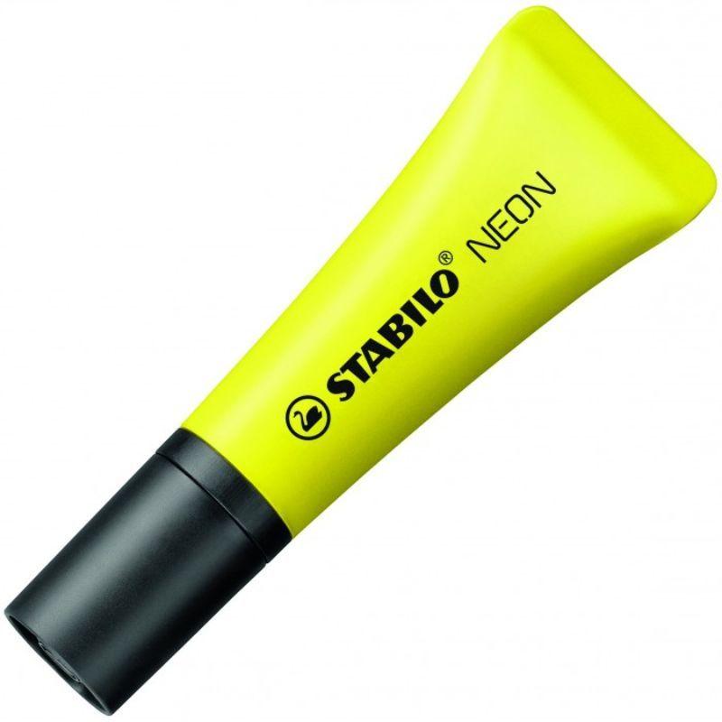 evidenziatori-stabilo-neon-giallo