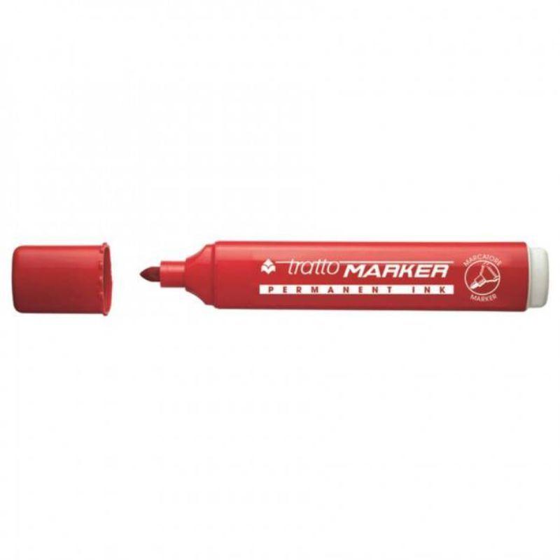 tratto-marker-punta-tonda-rosso