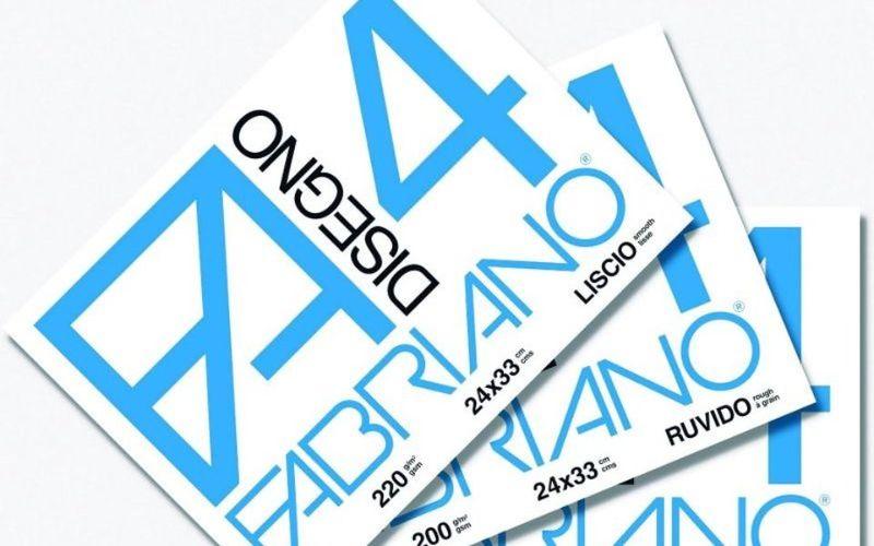 album-fabriano-a4-24x33cm-f4-220g-liscio
