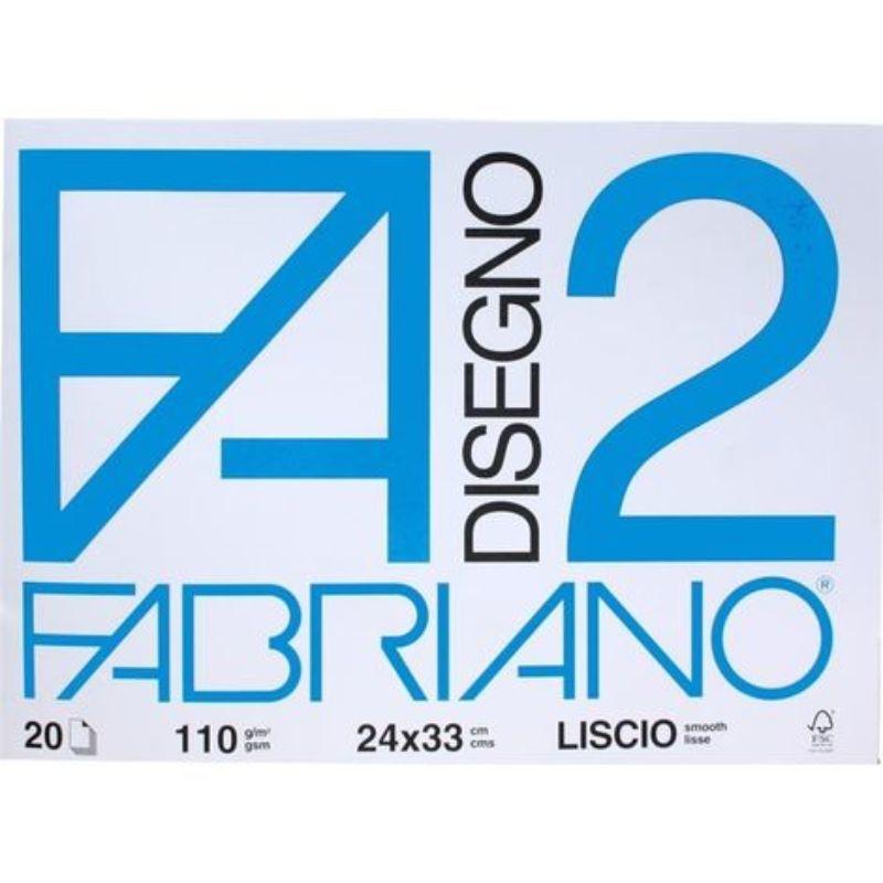 album-fabriano-a3-33x48cm-f2-110g-liscio