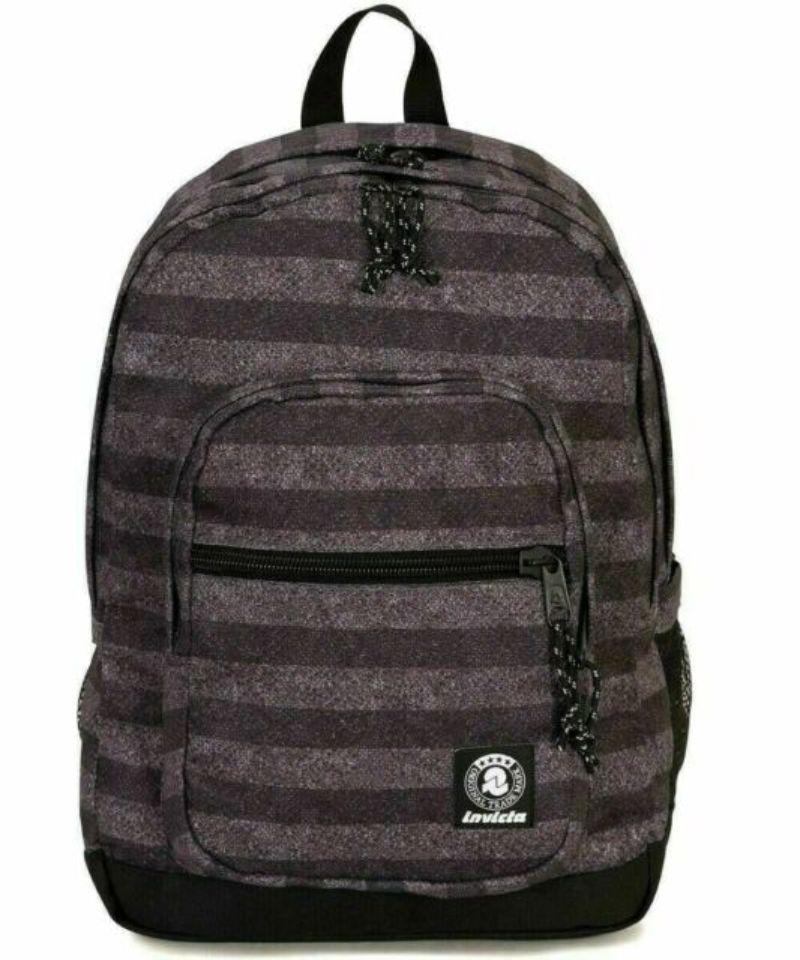 zaino-invicta-jelek-fantasy-backpack-righe-grigio