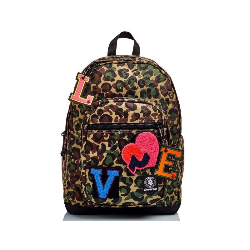 zaino-invicta-leopardato-love