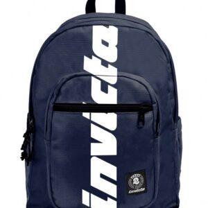 zaino-invicta-blu-logo